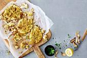 Vegan roast cauliflower (soya-free)