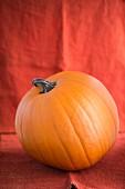 An orange halloween pumpkin