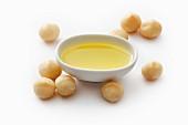 Macadamia oil and macadamia nuts