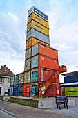 Transport container shop