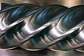 Aluminium helix