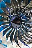 Aircraft engine fan