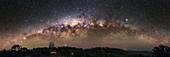 Milky Way over Sliding Spring Observatory