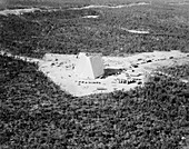 PAVE PAWS nuclear early-warning system, 1980s