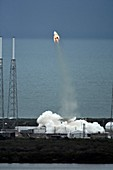 SpaceX's Crew Dragon launch abort test, 2015