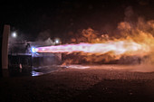 Interplanetary Raptor engine test by SpaceX, 2016