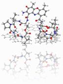 Actinomycin D (Dactinomycin) drug molecule