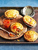 Winter Fare Lamb and quince pies