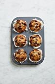 Classic chocolate muffins
