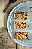 Dried cranberry granola bars