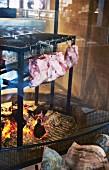 Lammfleisch räuchern