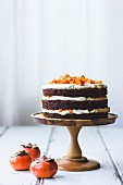 Persimmon layer cake