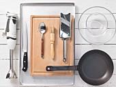 Kitchen utensils for preparing sardines