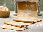 Pasta Grundteig mit Vollkorn