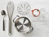 Kitchen utensils for the preparation of vinaigrette