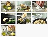 weiße Bohnencreme zubereiten