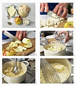 How to make apple and celeriac puree