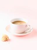 Eine Tasse Caffe Crema