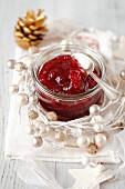 Cranberry jam for Christmas