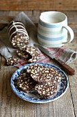 Biscuit chocolate salami