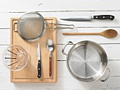 Kitchen utensils for making sauces