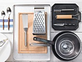 Kitchen utensils for making rostis