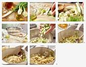 Quinoa mit Lauch und Fenchel zubereiten