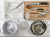 Kitchen utensils for making zander sausages