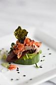 Asian Salmon Fingerfood