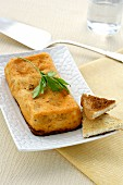Pastel de Gambas (shrimp terrine, Spain)