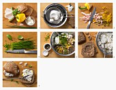Ricottacreme-Brötchen zubereiten