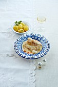 Cod with parsley potatoes