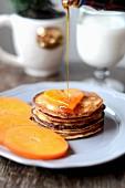 Persymona pancakes