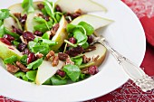 Pear, Cranberry and Watercress Salad