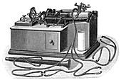 Edison's phonograph, 19th century