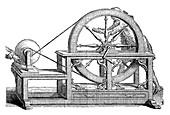 Nollet's electrostatic generator, 18th century