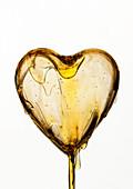 Conceptual image on cholesterol