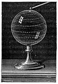Sparkling globe, 19th century