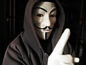 Cyber crime, conceptual image