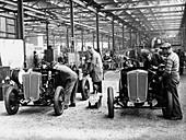 Morris Motors factory, 1933