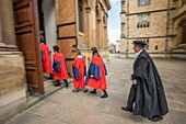 PhD graduands at the University of Oxford