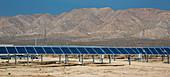 Solar farm, Bakersfield, USA