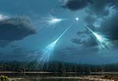 Artwork of Cosmic Rays