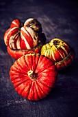 Three turkish pumpkins