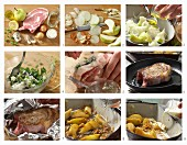 How to make a stuffed veal cutlet