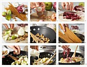 How to make pasta with pears, radicchio and walnuts