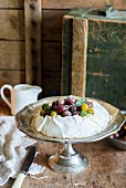 A gooseberry and meringue cake