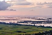 Blick über das Mekongdelta, Vietnam