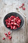 Getrocknete Erdbeeren