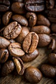 Kaffeebohnen (Close Up)